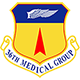 Logo: 36th Medical Group - Andersen Air Force Base
